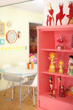 Danielle Thompson Christmas decor inspiration | Christmas dining room decor | Mollie Makes