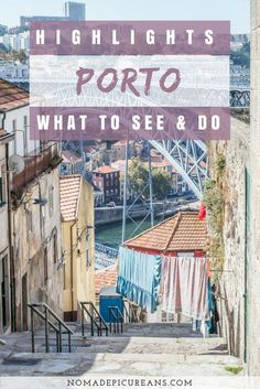 Porto is easily the most beautiful city in Portugal. In this post, we have compiled a list of Porto highlights. It includes a list of things you have to see & do in Porto on your first visit. And don't miss some of the fabulous day trips! #portugal #porto #travel