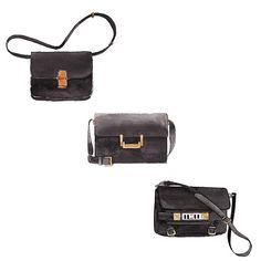 Good objects - Black beauties #black #leather #bags #celine #lulubag #saintlaurent #alexanderwang #goodobjects