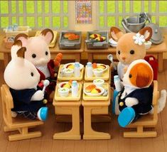 Sylvanian Families Marshmallow Mouse Family Japan 2018