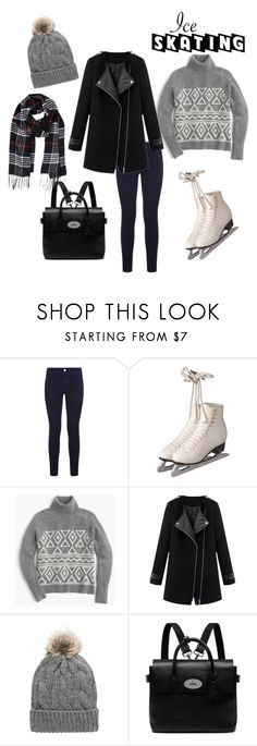 """""""Style on Ice"""" by katyjmiles ❤ liked on Polyvore featuring STELLA McCARTNEY, J.Crew, MANGO, Mulberry and Humble Chic"""
