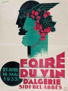 Constantin - foire du vin d'algérie, 1933