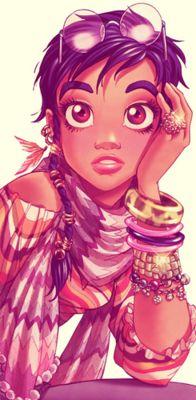Black Fangirls Unite: Taranee is the best girl. (via blackfemalesuperheroes)