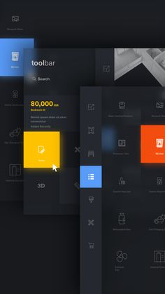 interface design Design Your Home on Behance Ui Ux Design, Interface Design, Design Page, Dashboard Design, Game Design, Branding Design, Design Tech, User Interface, Graphic Design