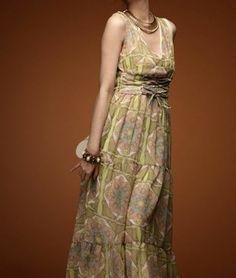 High Waist Deep V Neck Dress | Sprence