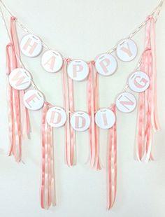 (ウエディングランド)WEDDINGLAND ガーランド HAPPY WEDDING リボン 1.8 WEDDINGLAND(ウエディングランド) http://www.amazon.co.jp/dp/B00LQEHLR4/ref=cm_sw_r_pi_dp_Ywpuub0Z8DK8D