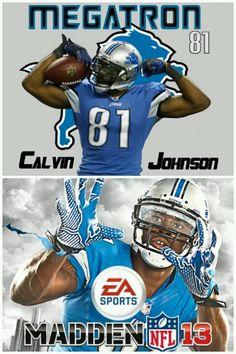 Youth Detroit Lions 81# Calvin Johnson White Jersey
