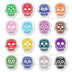 Mexican Sugar Skull Dia de los Muertos