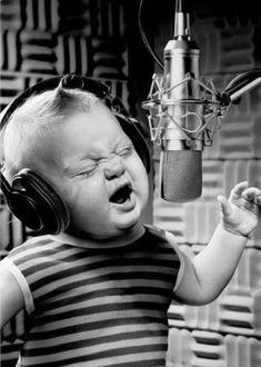 Ik ben een beroemde zanger!