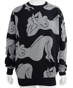 BY PARRA - KNITTEED PULLOVER SLEEPING KNITTED PULLOVER SWEATER (DARK NAVY) http://www.raddlounge.com/?pid=86114163 * all the merchandise can be purchased by Paypal :) www.raddlounge.com/ #streetsnap #style #raddlounge #wishlist #stylecheck #fashion #shopping #unisexwear #womanswear #clothing #wishlist #brandnew #rockwell #byparra #parra