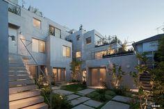 緑が丘コートハウス 竣工写真 - archinet コーポラティブハウス