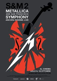 Metallica & San Francisco Symphony - S&M2 (2019) Metallica and the San Francisco Symphony perform a live concert together at Chase Center in San Francisco. Metallica San Francisco, San Francisco Symphony, Germany Language, Cinema, Concert, Movie Posters, Ideas, Movies, Film Poster