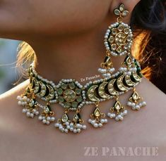 Designer jewelry of India - Are you researching for quality indian septum jewelry, gold jewelry indian, plus indian gold plated jewelry,. CLICK VISIT link above for more info India Jewelry, Gold Jewelry, Jewelery, Septum Jewelry, Jewellery Earrings, Antique Jewellery, Ethnic Jewelry, Bridal Necklace Set, Wedding Jewelry