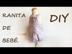 Ranita de bebé. Como hacer ropa de bebé. - YouTube