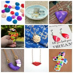 One Artsy Mama 11 easy clay projects - http://www.oneartsymama.com/2014/08/11-easy-projects-sculpey-clay.html