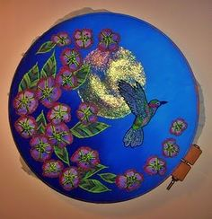 bird and flower embroidery