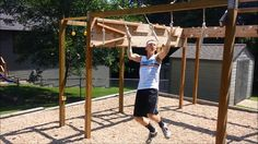 This is a production i put together to show my current ninja warrior course that I have in my backyard. I have 9 obstacles that include the cliffhanger, salm...