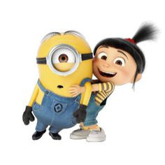 The Minions - Stuart & Agnes Despicable Me Memes, Despicable Me Costume, Agnes Despicable Me, Cartoon Wallpaper Iphone, Cute Disney Wallpaper, Cute Cartoon Wallpapers, Minion Wallpaper, Minion Gifts, Cute Disney Characters