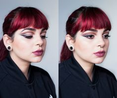 De Coturno e Spikes: Tutorial de Maquiagem: Trend Makeup Look - Neutral Double Cut Crease
