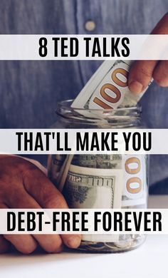 These financial TED talks contain great money saving tips on becoming debt free! I'm happy I found these money TED talks that will change your life! Now I have some great money tips and ways to become financially free. Source by chasingfoxpins Ways To Save Money, Money Tips, Money Saving Tips, Money Budget, Money Hacks, Dave Ramsey, Budgeting Finances, Budgeting Tips, Ted Talks
