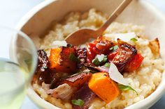 Find the recipe for Baked Risotto with Roasted Vegetables and other rice/grain recipes at Epicurious.com