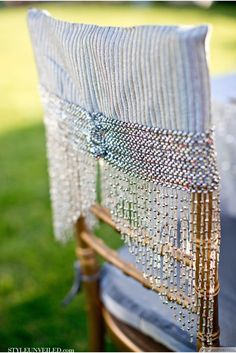 Lavish Chair Decorations Ideas For Great Gatsby Party ❥❥❥ http://bestpickr.com/great-gatsby-themed-party-ideas