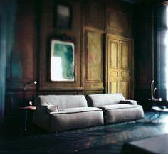 Baxter Italy Sofa Interior Modern, Interior Styling, Interior Design, Wood  Interiors, Elle