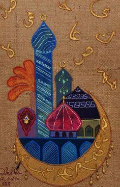Iraqi artist Dhuha Alkatib