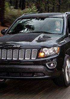 2015 Jeep Compass brilliant black