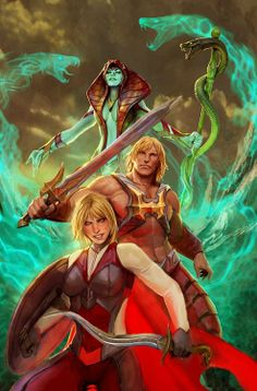 He-Man and the Masters of the Universe / Stjepan Sejic