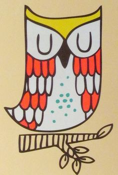 print & pattern: PAPERCHASE - sleepy owls