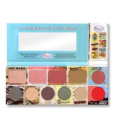 The Balm - Paleta In theBalm of Your Hand