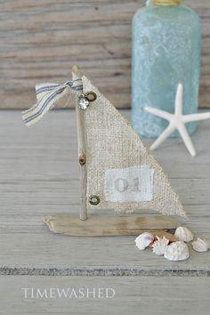 A New Love~Driftwood Sailboats!!