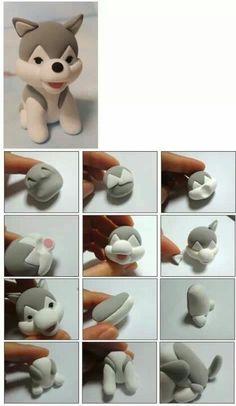 Step by step dog
