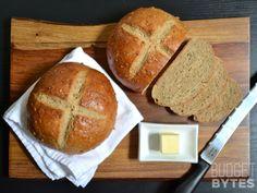 honey sunflower bread via Budget Bytes