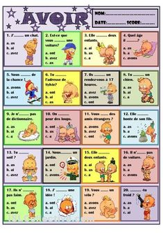 How To Learn French Classroom Learn French Worksheets Student French Verbs, French Grammar, French Phrases, French Language Lessons, French Language Learning, French Lessons, French Flashcards, French Worksheets, French Teaching Resources