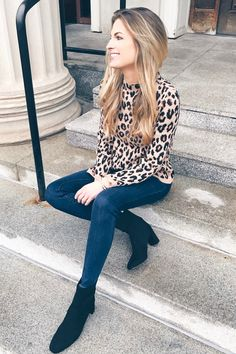 fceeb27ca9 Leopard Holiday Party Outfits To Try This Season! 2018