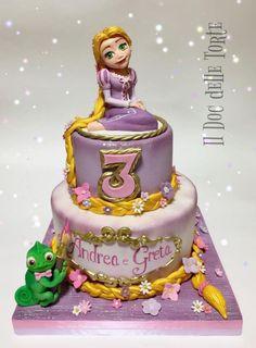 Rapunzel cake by Davide Minetti