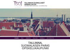 Tallinnan Suomalaiset Opiskelijat ry:n uudet kotisivut toteutettiin Kotisivukoneen Avaimet käteen -palvelun avulla.