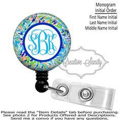 Personalized Name Badge Reel Retractable ID Badge Holder Carabiner Nurse  Teacher Black Gold Glitter Polka Dot Lanyard Steth Tag
