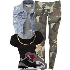 Find out more ideas about Styles clothing, Swag outfits and Ladies styles. Swag Outfits For Girls, Hip Hop Outfits, Dope Outfits, Summer Outfits, Girl Outfits, Casual Outfits, Fashion Outfits, Outfits With Jordans, Fashion Trends