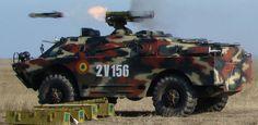 Romanian 9P148 Konkurs ATGM on a BRDM-2