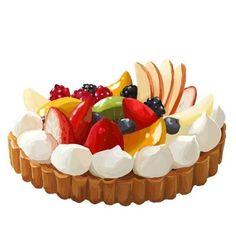 Fruit Custard Tart ♥️