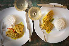 Salmon in a Bengali Mustard Sauce recipe