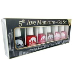 5th Avenue Gel Set 3 Gel Manicure, Nails, 5th Avenue, Beauty Shop, Cut And Color, Hair Beauty, Finger Nails, Ongles, Nail
