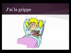 Avoir Mal video to introduce au etc French Verbs, French Grammar, French Teaching Resources, Teaching French, French Body Parts, Classroom Websites, French For Beginners, French Songs, French Education