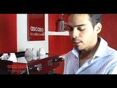 Como Manipular una Maquina espresso STEEL BAR de ASCASO
