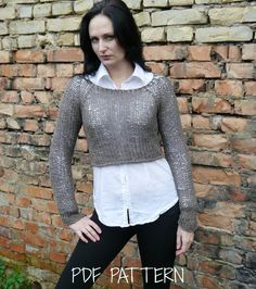 (6) Name: 'Knitting : Knitted Sweater