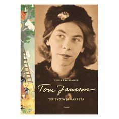 Karjalainen, Tuula: Tove Jansson, Arbeid og Elsk (kommer i salg i Norge I Love Books, Books To Read, My Books, Moomin Books, Tove Jansson, Moomin Valley, Portraits, History Books, Stop Motion