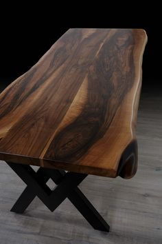 Walnut Table, Dining Table, Kitchen, Furniture, Home Decor, Cooking, Decoration Home, Room Decor, Dinner Table